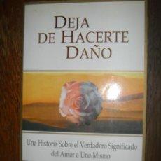Libros de segunda mano: DEJA DE HACERTE DAÑO. MELODY BEATTIE. EDAF. 1998. Lote 38979530