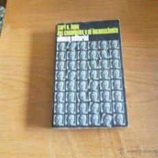 Libros de segunda mano: CARL GUSTAV JUNG-----LOS COMPLEJOS Y EL INCONSCIENTE--. Lote 39471956