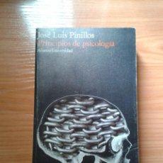 Libros de segunda mano: PRINCIPIOS DE PSICOLOGÍA. J. L. PINILLOS. Lote 39486278