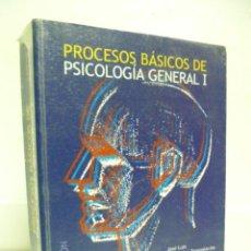 Libros de segunda mano: PROCESOS BÁSICOS DE PSICOLOGÍA GENERAL (I). Lote 40033165