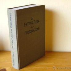 Libros de segunda mano: LA ESTRUCTURA DE LA PERSONALIDAD. LERSCH, PHILIPP SCIENTIA , REVISION SARRÓ ED,1968 (PEDAGOGIA BS1. Lote 51186621