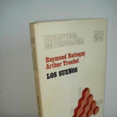 Libros de segunda mano: LOS SUEÑOS. RAYMOND BATTEGAY. ARTHUR TREKEL. BIBLIOTECA DE PSICOLOGÍA Nº59. EDITORIAL HERDER.. Lote 42371833