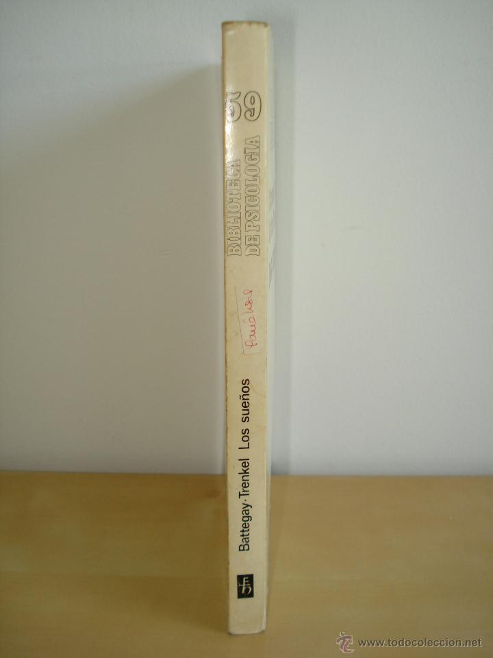 Libros de segunda mano: LOS SUEÑOS. RAYMOND BATTEGAY. ARTHUR TREKEL. BIBLIOTECA DE PSICOLOGÍA Nº59. EDITORIAL HERDER. - Foto 2 - 42371833