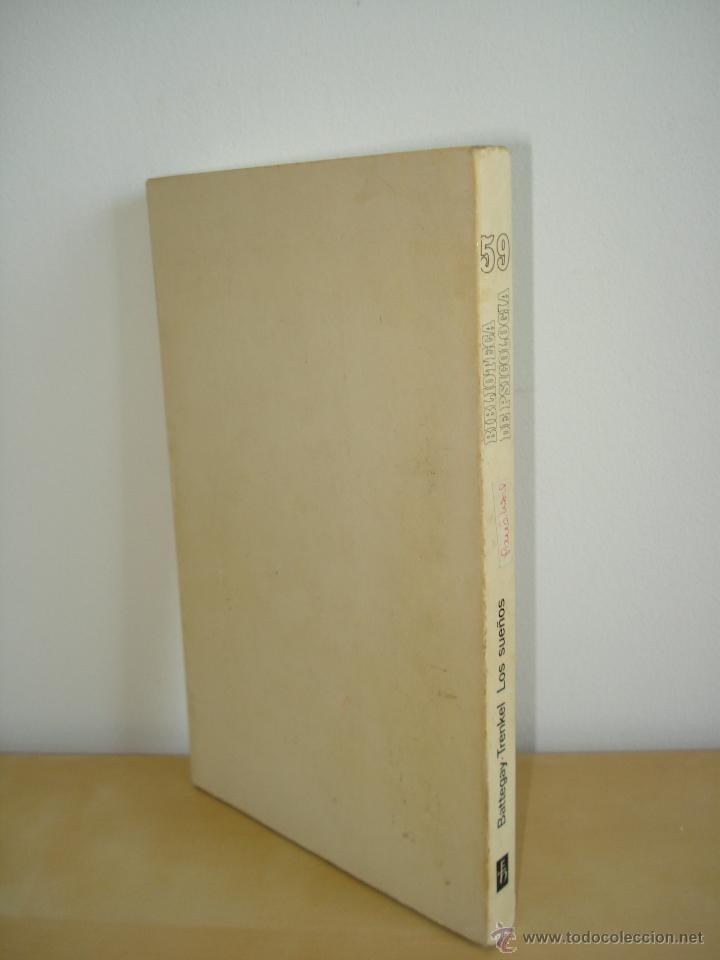 Libros de segunda mano: LOS SUEÑOS. RAYMOND BATTEGAY. ARTHUR TREKEL. BIBLIOTECA DE PSICOLOGÍA Nº59. EDITORIAL HERDER. - Foto 4 - 42371833