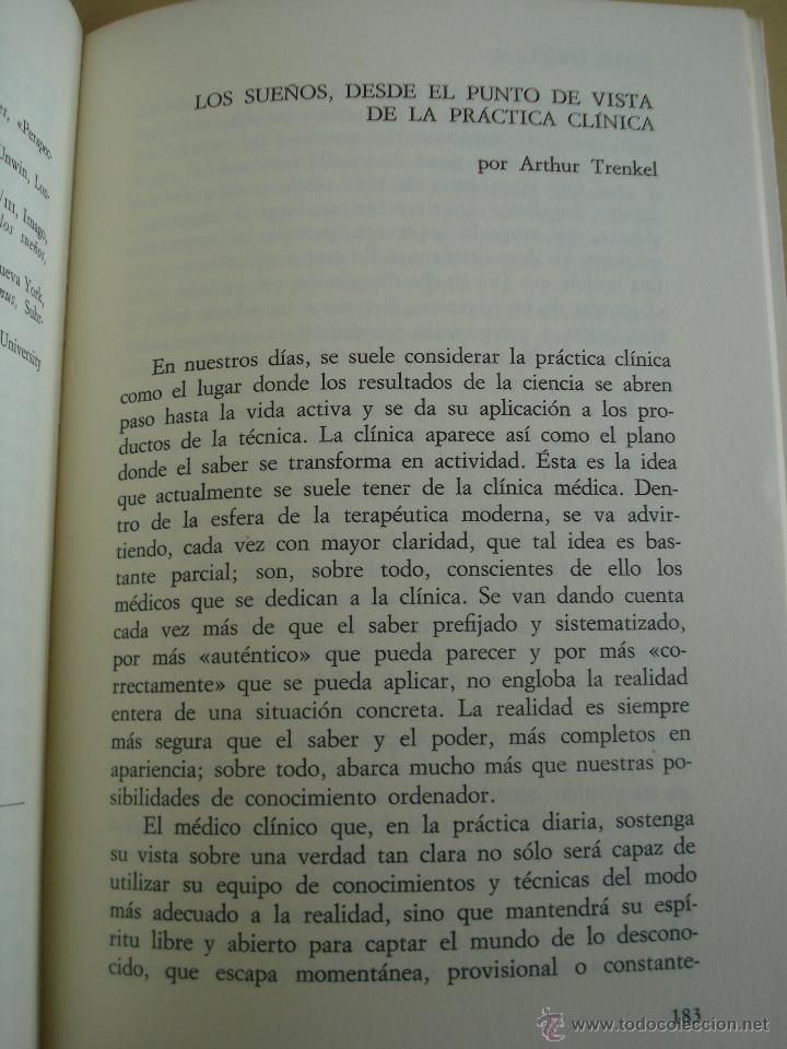 Libros de segunda mano: LOS SUEÑOS. RAYMOND BATTEGAY. ARTHUR TREKEL. BIBLIOTECA DE PSICOLOGÍA Nº59. EDITORIAL HERDER. - Foto 9 - 42371833