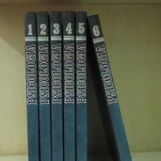 Libros de segunda mano: PSICOLOGÍA. 6 TOMOS. EDICIONES ALGAR. 1990. 1056 PÁGINAS. Lote 42796842