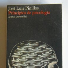 Libri di seconda mano: PRINCIPIOS DE PSICOLOGIA - JOSE LUIS PINILLOS. Lote 43047354