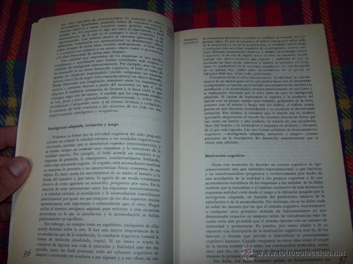 Libros de segunda mano: EL DESARROLLO COGNITIVO. JOHN H. FLAVELL.VISOR LIBROS.1ª EDICIÓN 1984.MAGNÍFICO EJEMPLAR.VER FOTOS. - Foto 4 - 43558514