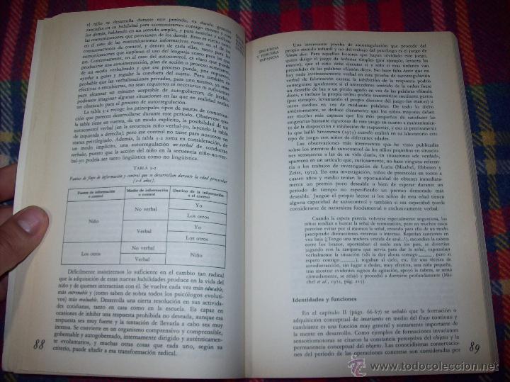Libros de segunda mano: EL DESARROLLO COGNITIVO. JOHN H. FLAVELL.VISOR LIBROS.1ª EDICIÓN 1984.MAGNÍFICO EJEMPLAR.VER FOTOS. - Foto 5 - 43558514
