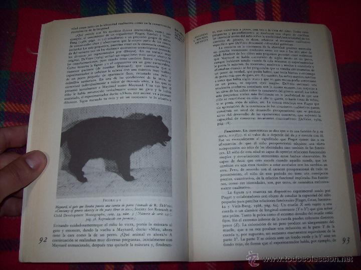 Libros de segunda mano: EL DESARROLLO COGNITIVO. JOHN H. FLAVELL.VISOR LIBROS.1ª EDICIÓN 1984.MAGNÍFICO EJEMPLAR.VER FOTOS. - Foto 6 - 43558514