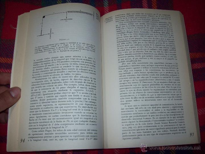 Libros de segunda mano: EL DESARROLLO COGNITIVO. JOHN H. FLAVELL.VISOR LIBROS.1ª EDICIÓN 1984.MAGNÍFICO EJEMPLAR.VER FOTOS. - Foto 7 - 43558514