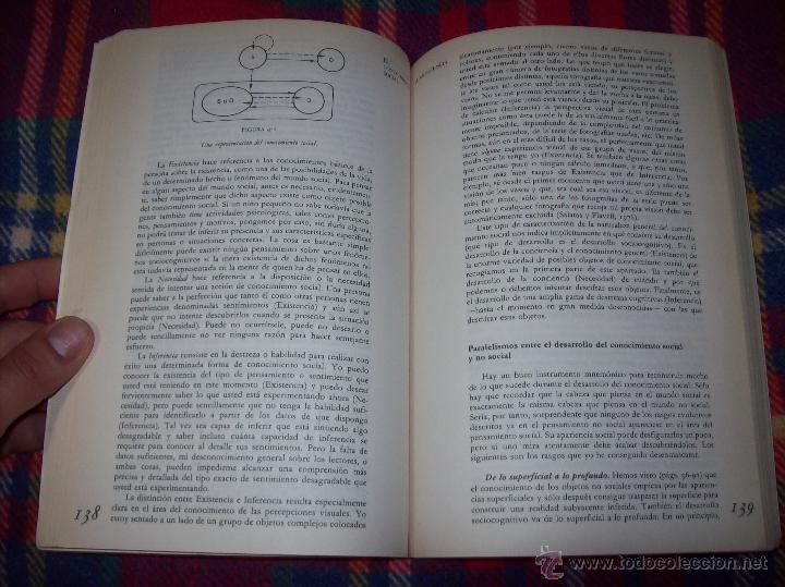 Libros de segunda mano: EL DESARROLLO COGNITIVO. JOHN H. FLAVELL.VISOR LIBROS.1ª EDICIÓN 1984.MAGNÍFICO EJEMPLAR.VER FOTOS. - Foto 8 - 43558514