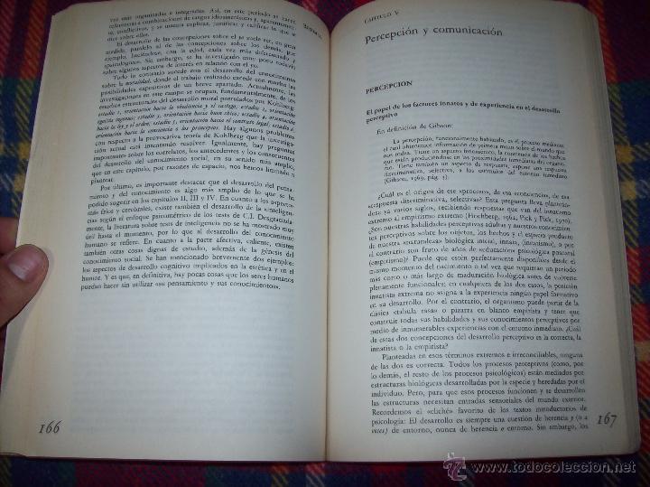 Libros de segunda mano: EL DESARROLLO COGNITIVO. JOHN H. FLAVELL.VISOR LIBROS.1ª EDICIÓN 1984.MAGNÍFICO EJEMPLAR.VER FOTOS. - Foto 9 - 43558514
