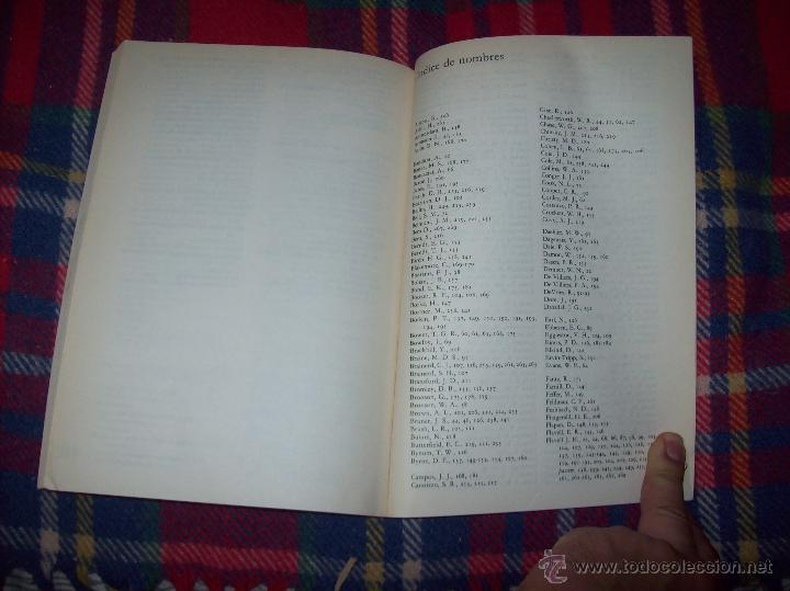 Libros de segunda mano: EL DESARROLLO COGNITIVO. JOHN H. FLAVELL.VISOR LIBROS.1ª EDICIÓN 1984.MAGNÍFICO EJEMPLAR.VER FOTOS. - Foto 16 - 43558514