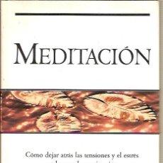 Libros de segunda mano: MEDITACION BRIAN WEISS. Lote 43594231