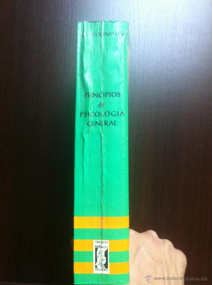 Libros de segunda mano: PRINCIPIOS DE PSICOLOGIA GENERAL - S.L. RUBINSTEIN - TRATADOS Y MANUALES GRIJALBO - MEXICO - 1967 - - Foto 2 - 43797305