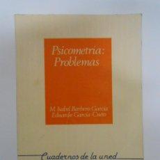 Gebrauchte Bücher - Psicometría: problemas Barbero García, María Isabel García Cueto, Eduardo. TDK197 - 43987298