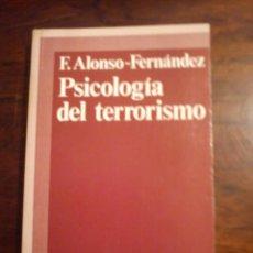 Libros de segunda mano: PSICOLOGÍA DEL TERRORISMO. Lote 44861878