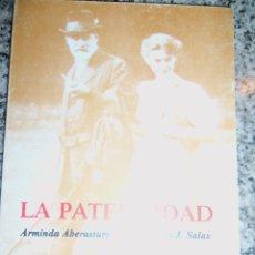 Libros de segunda mano: LA PATERNIDAD, POR ARMINDA ABERASTURY Y EDUARDO SALAS - EDIC. KARGIEMAN - ARGENTINA - 1984 - RARO!. Lote 45303948