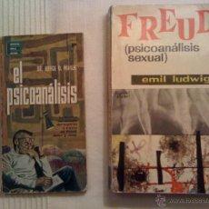 Libros de segunda mano: 2 X 1 LIBROS PSICOLOGÍA . FREUD . PSICOANÁLISIS SEXUAL. ORIGINALES AÑOS 70 . Lote 45877181