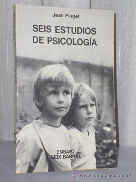 SEIS ESTUDIOS DE PSICOLOGÍA. (Libros de Segunda Mano - Pensamiento - Psicología)