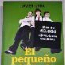 Libros de segunda mano: EL PEQUEÑO DICTADOR, JAVIER URRA, LA ESFERA. Lote 46535798