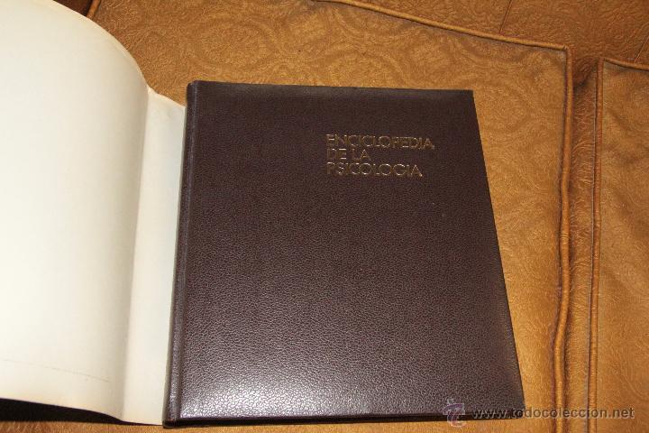 Libros de segunda mano: ENCICLOPEDIA DE LA PSICOLOGÍA, OBRA COMPLETA EN 8 TOMOS - Foto 3 - 46655367