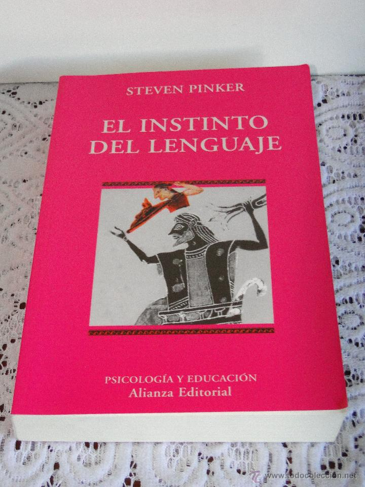 el instinto del lenguaje pinker