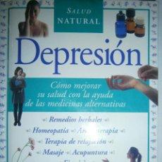 Libros de segunda mano: DEPRESION EDZARD ERNST PARRAMON 2000. Lote 48463999