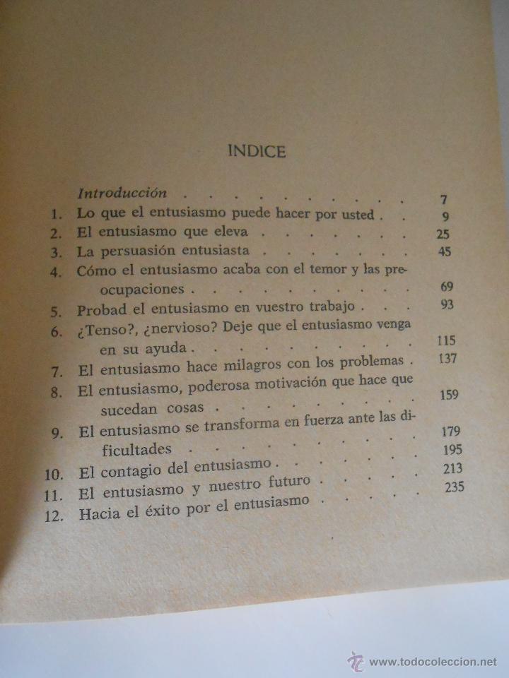 Libros de segunda mano: norman vincent peale hacia el exito por el entusiasmo ediciones grijalbo barcelona 1971 - Foto 3 - 191482748