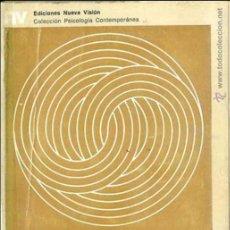 Libros de segunda mano: SLUZKI : PSICOPATOLOGÍA Y PSICOTERAPIA DE LA PAREJA (NUEVA VISIÓN, 1975). Lote 48693092
