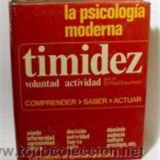 Libros de segunda mano: TIMIDEZ, VOLUNTAD, ACTIVIDAD. DR PAUL CHAUCHARD. Lote 48708801