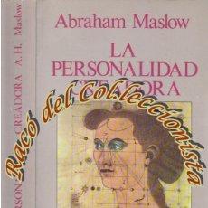 Libros de segunda mano: LA PERSONALIDAD CREADORA, ABRAHAM MASLOW, EDITORIAL KAIROS, 1987. Lote 48894405