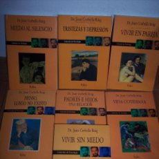 Libros de segunda mano: LOTE DE 7 LIBROS DEL DR. JOAN CORBELLA ROIG (EDICIONES FOLIO-1990/1993. Lote 49552447