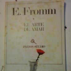 Libros de segunda mano: EL ARTE DE AMAR-ERICH FROMM- PAIDOS STUDIO. Lote 50194931