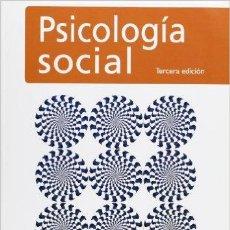Libros de segunda mano: PSICOLOGIA SOCIAL TERCERA EDICION J,FRANCISCO MORALES,MIGUEL MOYA,ELENA GAVIRIA,I.CUADRADO. Lote 228402285