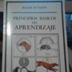 Libros de segunda mano: PRINCIPIOS BÁSICOS DEL APRENDIZAJE. Lote 50793847