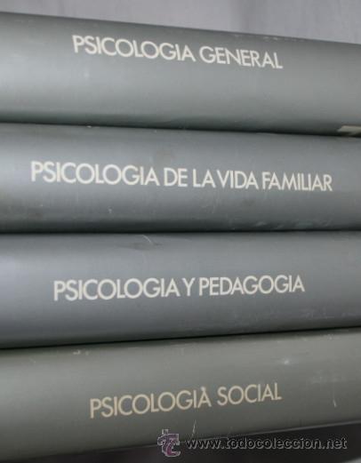 Libros de segunda mano: 4 TOMOS, ENCICLOPEDIA DE LA PSICOLOGIA, DENIS HUISMAN, PLAZA & JANES 1978, LIBROS - Foto 2 - 51557221