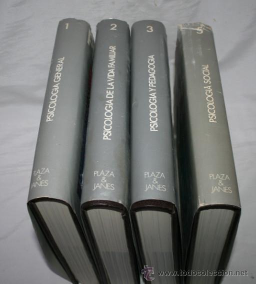 Libros de segunda mano: 4 TOMOS, ENCICLOPEDIA DE LA PSICOLOGIA, DENIS HUISMAN, PLAZA & JANES 1978, LIBROS - Foto 3 - 51557221