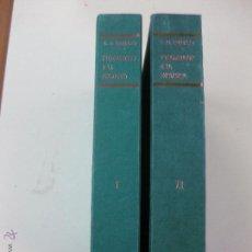 Libros de segunda mano: INTRODUCCION A LA PSICOLOGIA. HILGARD. 2 VOLUMENES.EDICIONES MORAQTA 1970.. Lote 52153151
