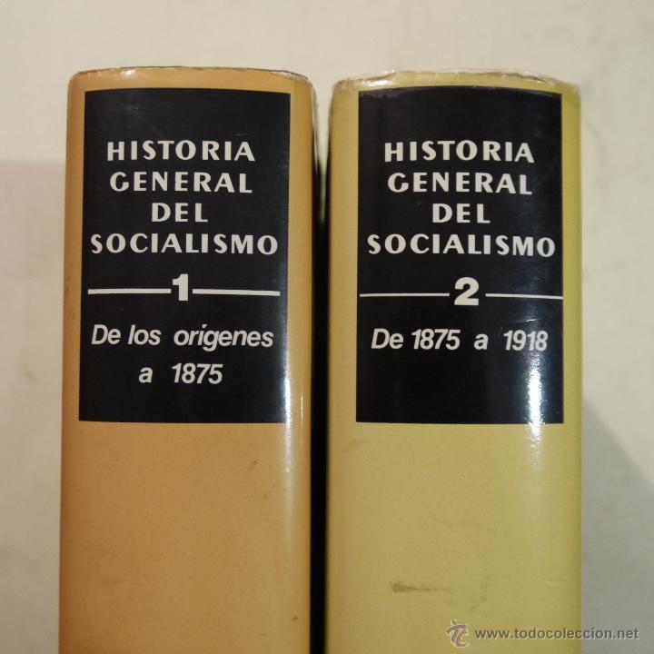 Libros de segunda mano: HISTORIA GENERAL DEL SOCIALISMO VOL. 1 Y 2 - - EDICIONES DESTINO - 1979 - Foto 2 - 52661174