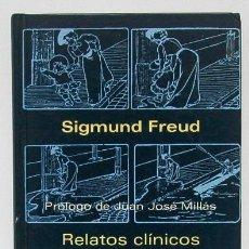 Libros de segunda mano: FREUD, SIGMUND: RELATOS CLÍNICOS (SIRUELA) (CB). Lote 53343237