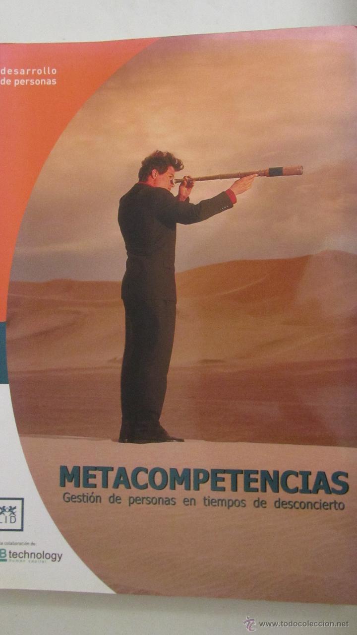 METACOMPETENCIAS. GESTIÓN DE PERSONAS EN TIEMPOS DE DESCONCIERTO DE VARIOS AUTORES (LID) (Libros de Segunda Mano - Pensamiento - Psicología)
