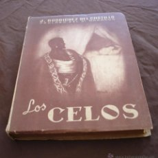 Libros de segunda mano: LOS CELOS - J. RODRÍGUEZ DEL CASTILLO - PRÓLOGO DE MARAÑÓN - SAN SEBASTIÁN, 1946. Lote 53883542