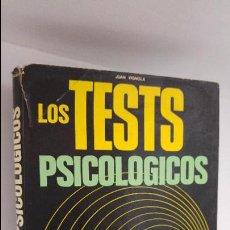 Libros de segunda mano: LOS TEST PSICOLOGICOS. Lote 54365535