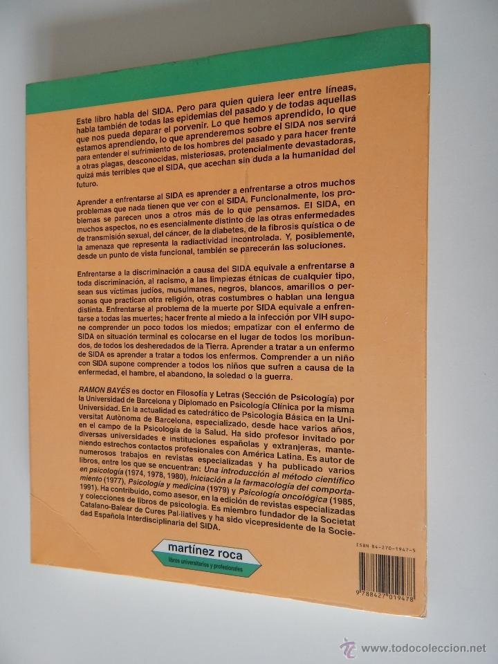 Libros de segunda mano: Biblioteca de Psicología, Psiquiatría y Salud Clínica. Sida y Psicología - Ramon Bayés, 1995 - Foto 2 - 54687353