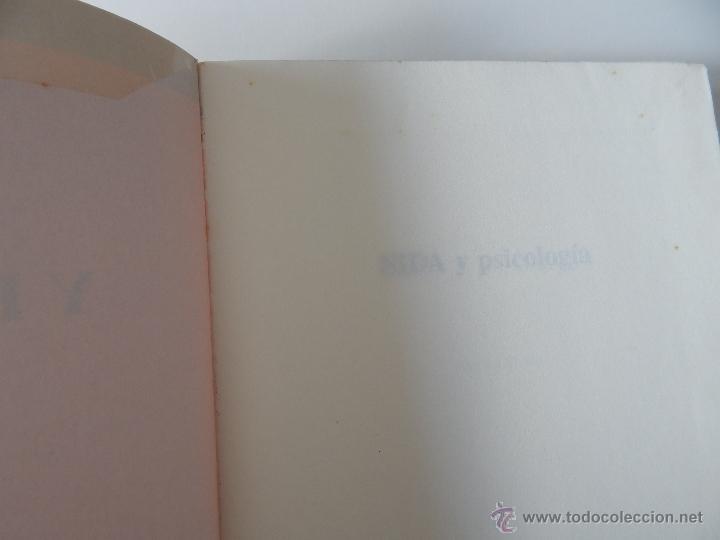 Libros de segunda mano: Biblioteca de Psicología, Psiquiatría y Salud Clínica. Sida y Psicología - Ramon Bayés, 1995 - Foto 4 - 54687353