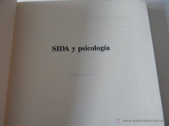 Libros de segunda mano: Biblioteca de Psicología, Psiquiatría y Salud Clínica. Sida y Psicología - Ramon Bayés, 1995 - Foto 5 - 54687353