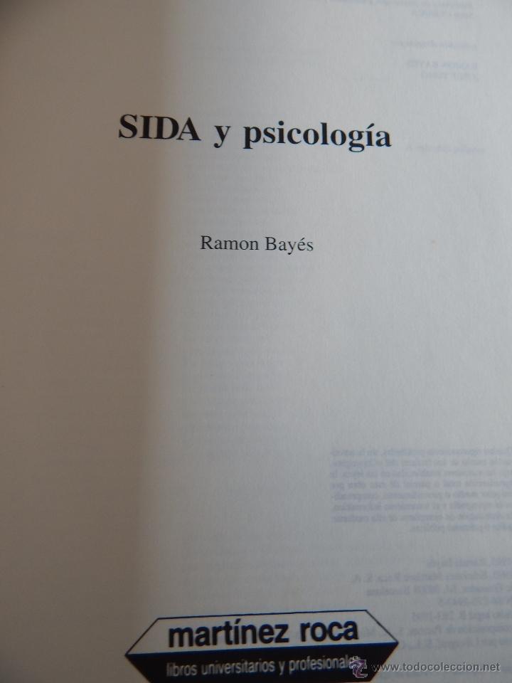 Libros de segunda mano: Biblioteca de Psicología, Psiquiatría y Salud Clínica. Sida y Psicología - Ramon Bayés, 1995 - Foto 6 - 54687353