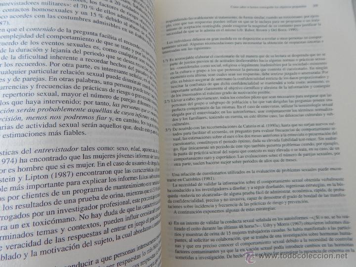 Libros de segunda mano: Biblioteca de Psicología, Psiquiatría y Salud Clínica. Sida y Psicología - Ramon Bayés, 1995 - Foto 9 - 54687353